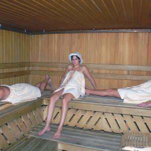 Сауна в санатории