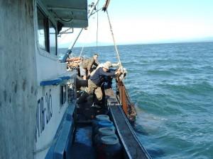 добыча грязей из Японскаго моря